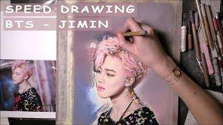 [SPEED DRAWING SOFT PASTELS] BTS JIMIN / 방탄소년단 지민 - YNWA Era