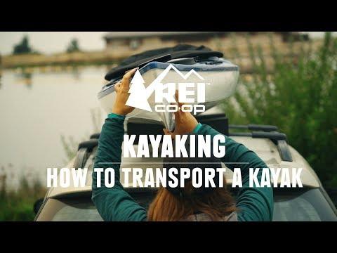 Kayaking   How to Transport a Kayak    REI