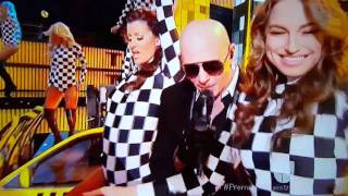 farruko ft pitbull en lo premio lo nuestro 2016