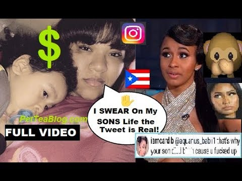 Woman Whose Baby Cardi B Picked On Is Suing Explains It All Full Instagram Live