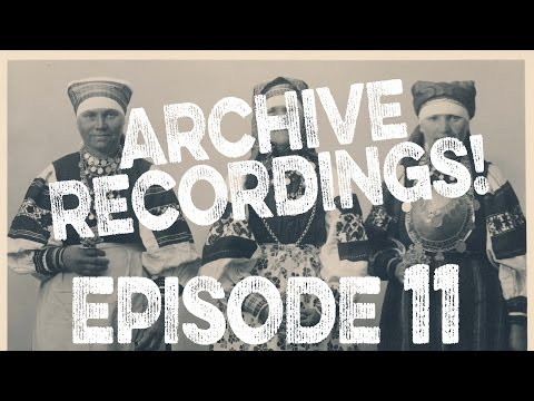 ARCHIVE RECORDINGS! | VLOG Ep 11