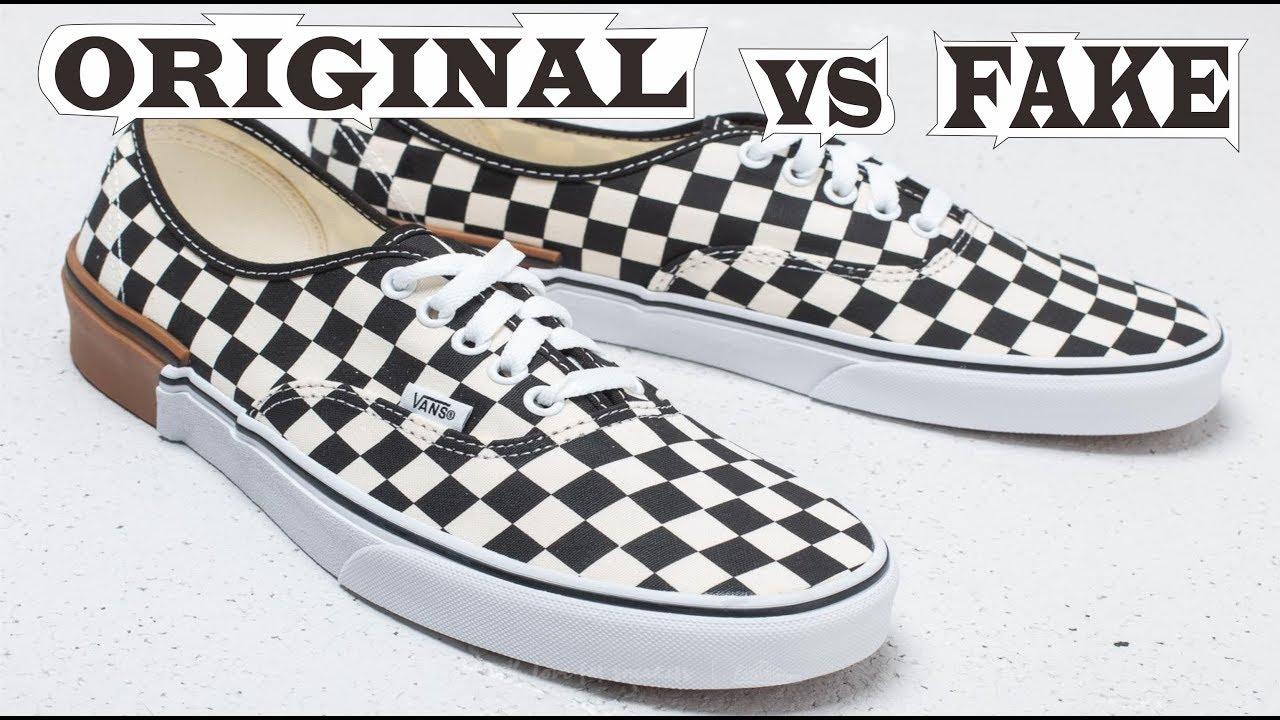 Vans Authentic Gum Block Checkerboard