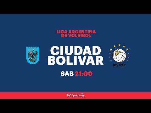Liga Argentina: Ciudad Voley  vs. Personal Bolívar l #VoleyEnTyCSports