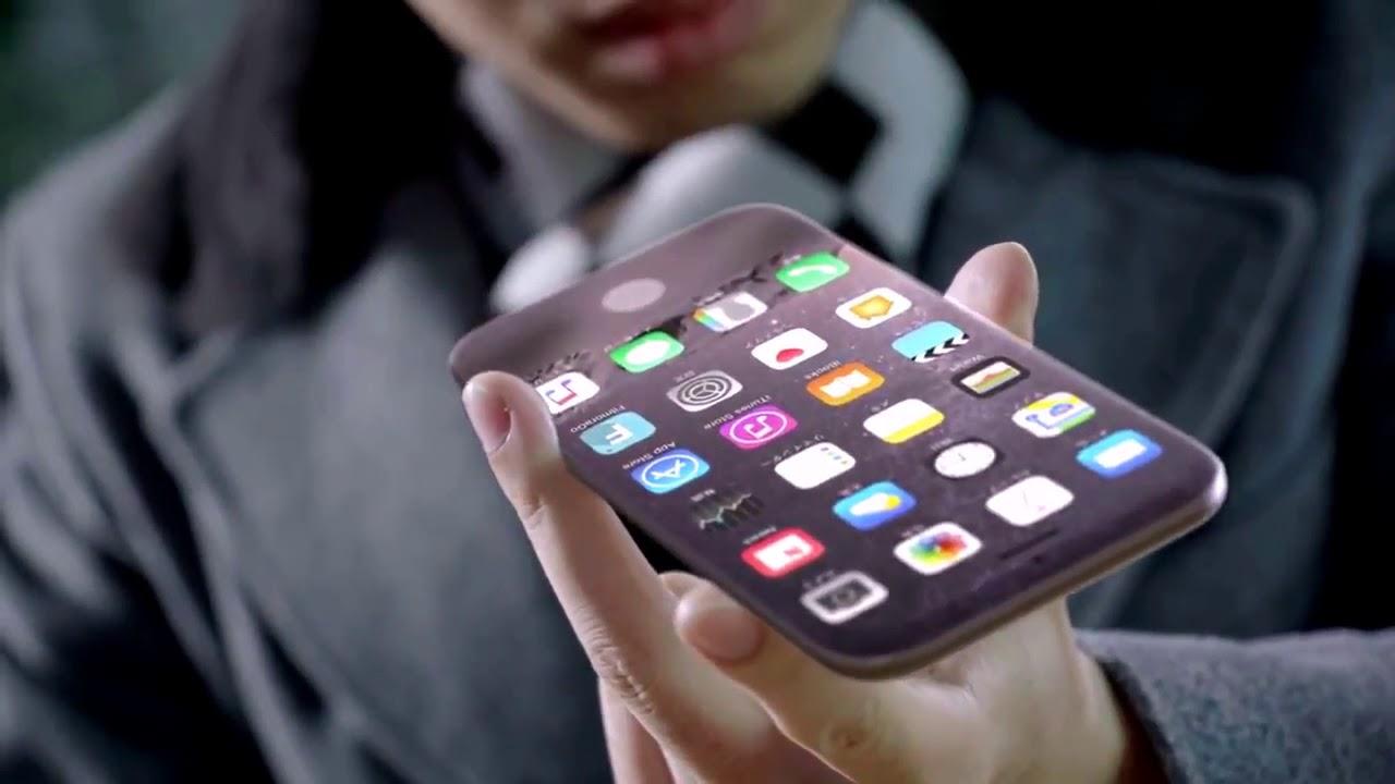 Iphone 8 Official Trailer - اول ظهور لموبيل ايفون ٨