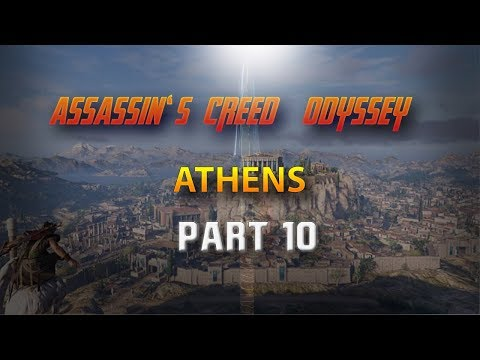 ASSASSIN'S CREED ODYSSEY GAMEPLAY WALTHROUGH | PART 10 | ATHENS