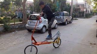 B Tech Mechanical Engineering projects: Cross Bike