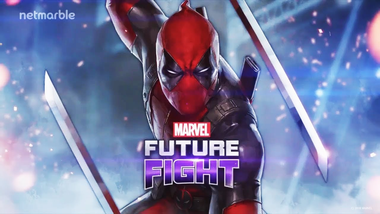 Marvel Future Fight Deadpool Domino And New Cable Uniform