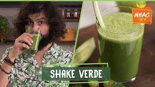 Shake Com Couve-manteiga Uva Pepino Japonês E Maçã Verde  Mohamad Hindi  Deixa Eu Provar