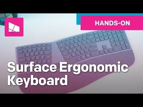 Surface Ergonomic Keyboard Unboxing