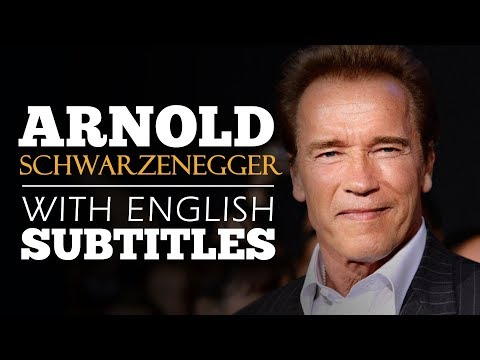 ENGLISH SPEECH | ARNOLD SCHWARZENEGGER: Help Others (English Subtitles)