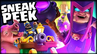 NUEVA CARTA LEGENDARIA *BRUJA MADRE* EN CLASH ROYALE - Sneak Peek - WithZack