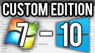 How to Make an Unofficial Windows 7-10 Version - NTLite Tutorial & Demo