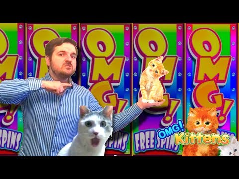 WATCH THIS VIDEO OR SDGUY WILL KILL A KITTEN 💲 OMG Kittens  & OMG Kitten Safari Slot Machine