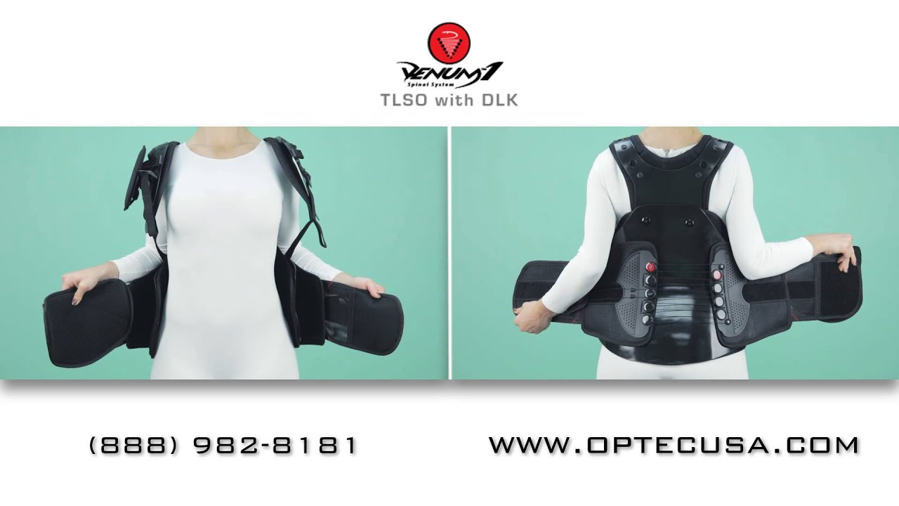 best back brace venum 1 tlso dlk assembly youtube