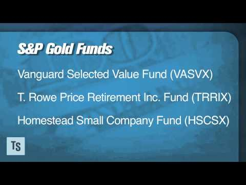 S&P's Gold Winning Mutual Funds