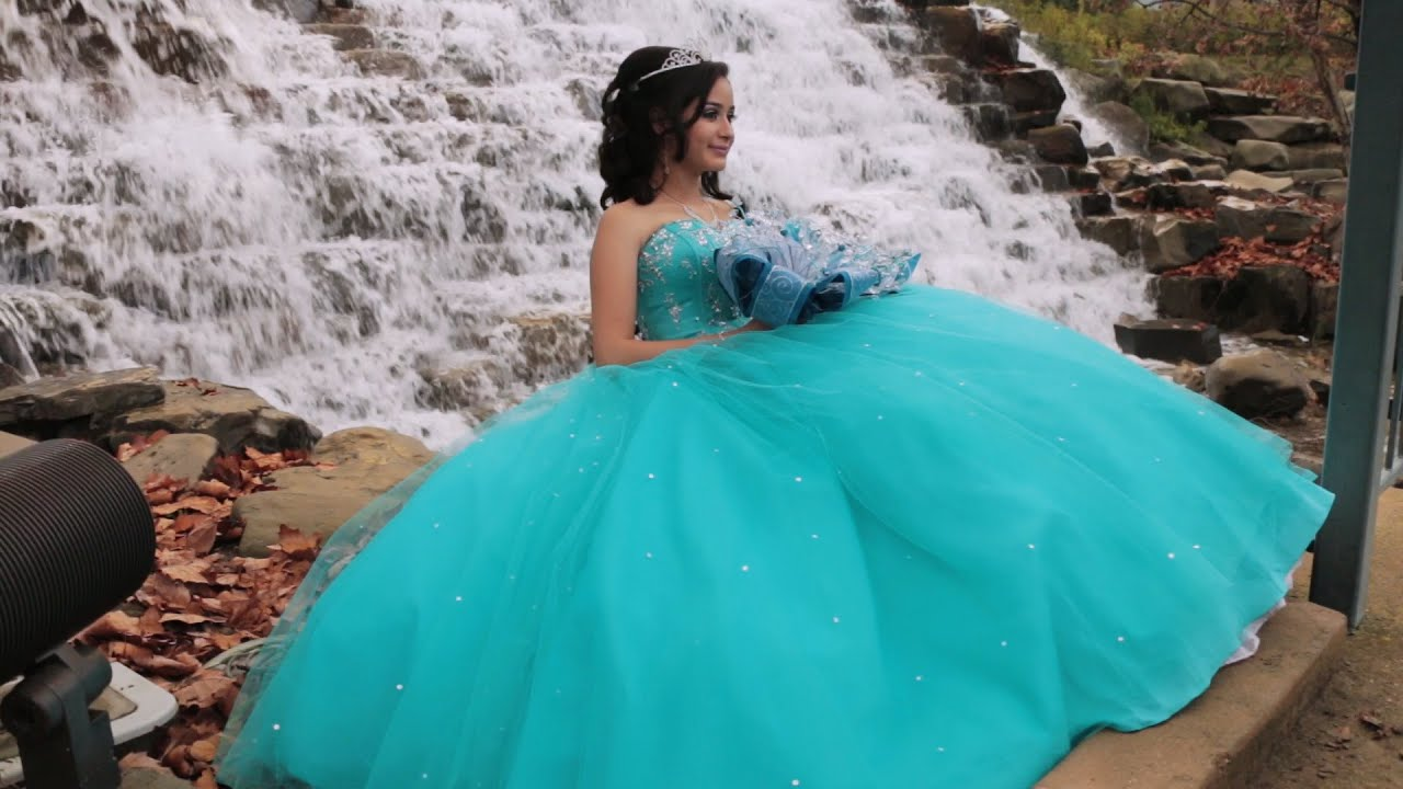 032c6ec3a95 Vanessa -Quinceañera Highlights - YouTube