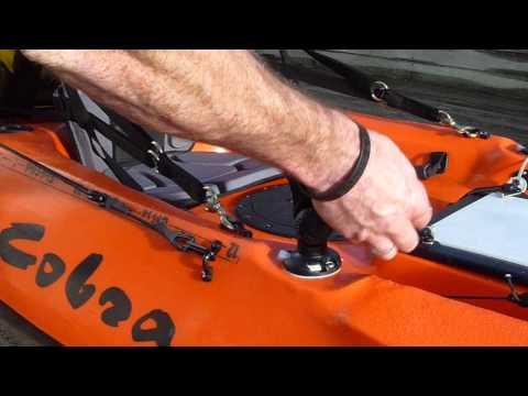 Mounts & Accessories For Cobra Kayak With RAILBLAZA