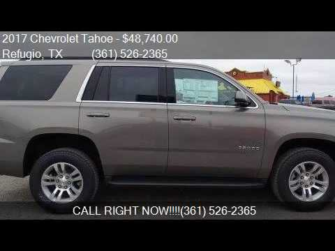 2017 chevrolet tahoe ls 4x2 4dr suv for sale in refugio tx youtube. Black Bedroom Furniture Sets. Home Design Ideas