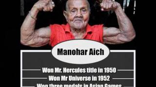 Manohar Aich India's first Mr Universe