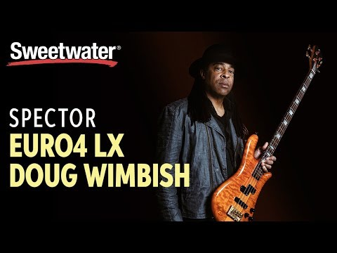 Spector Euro4 LX Doug Wimbish Signature Bass Demo