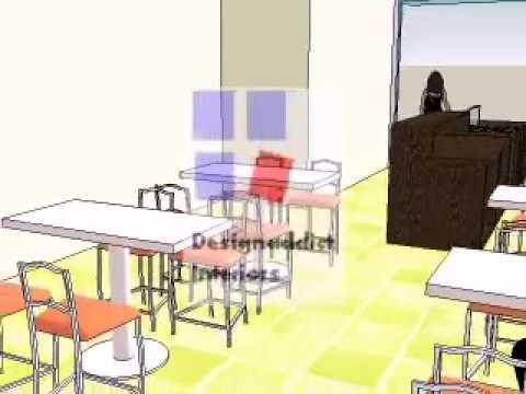 ice cream parlour interior design ideas
