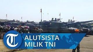 Ratusan Alutsista Canggih Diturunkan pada HUT Ke-74 TNI di Halim Perdanakusumah Siang Ini