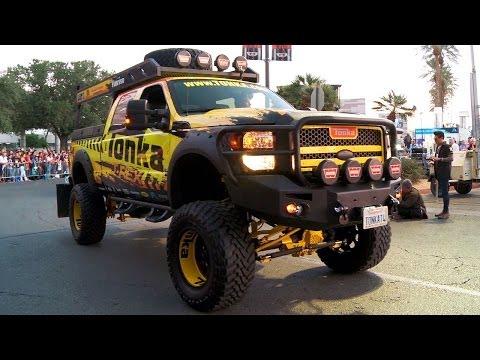 Trucks, Buggies, Winches & Light Bars! - 2013 SEMA Week Ep. 3