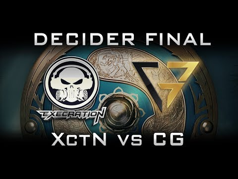 Execration vs CG Clutch Gamers TI7 - Last SEA slot The International 2017 Highlights Dota 2