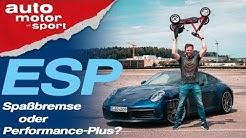 ESP: Spaßbremse oder Performance-Plus? - Bloch erklärt #72 | auto motor und sport