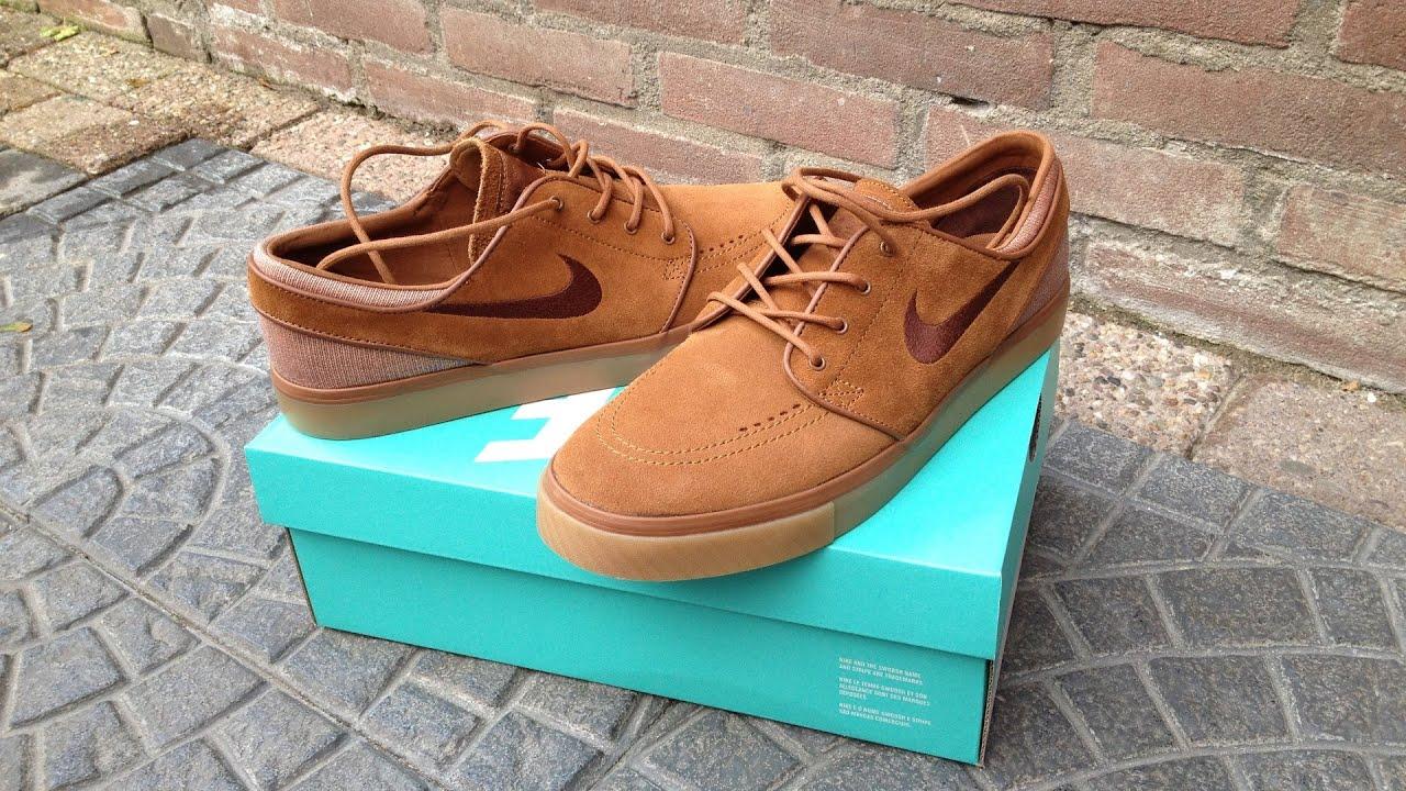 Nike SB Janoski (LT BRITISH TAN/DK