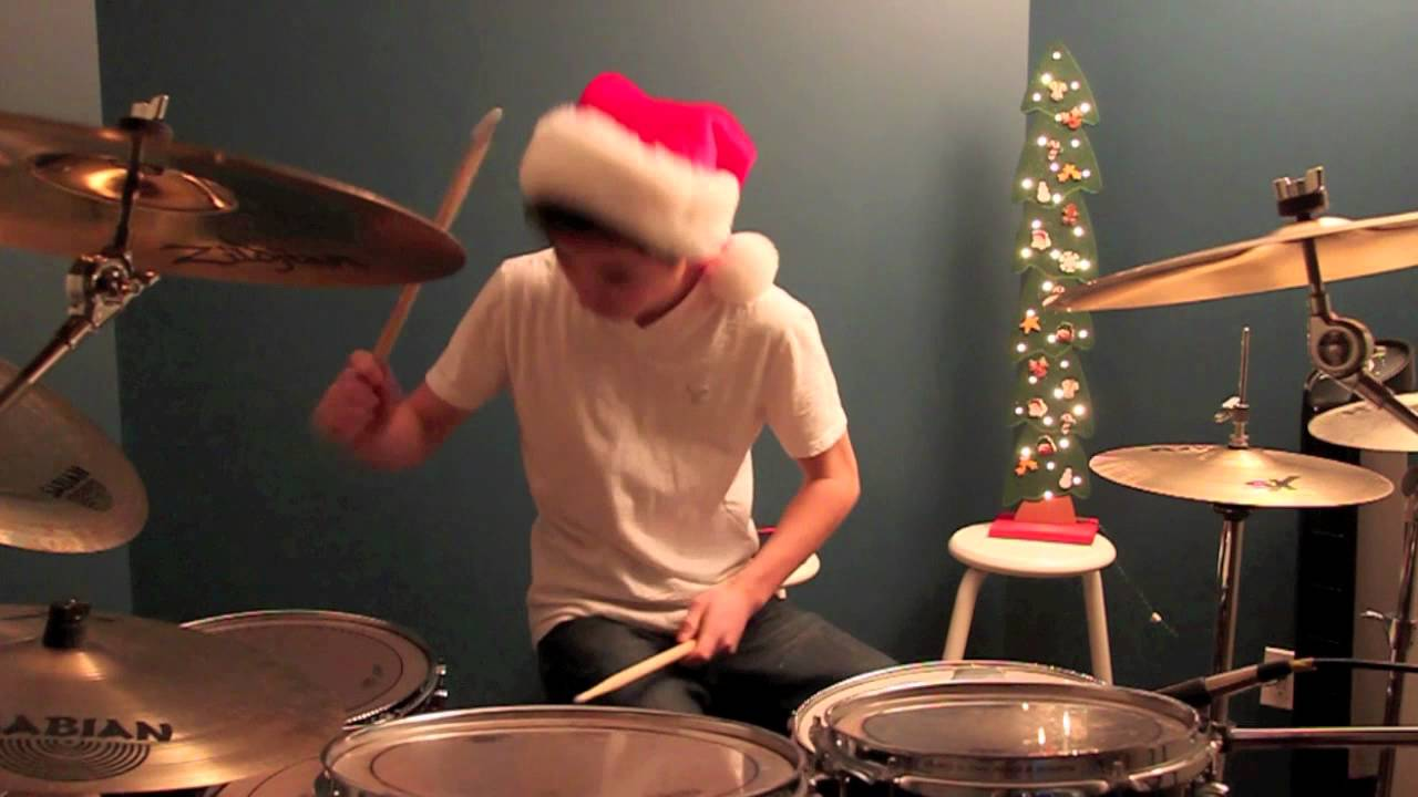 Relient K - 12 Days Of Christmas | DRUM COVER by DannyFinDrums ...