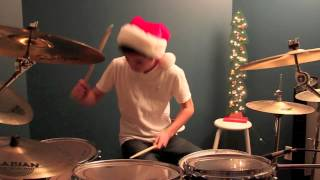 Relient K - 12 Days Of Christmas | DRUM COVER by DannyFinDrums