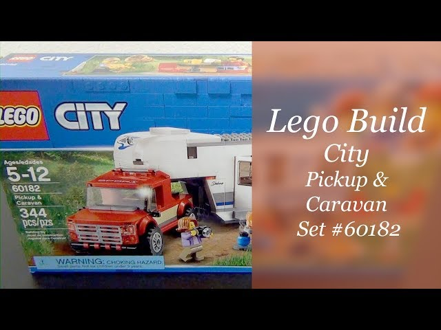 LEGO City Build - Pickup & Caravan Set #60182