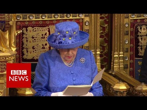 LIVE: State Opening of Parliament The Queen's speech- BBC NEWS