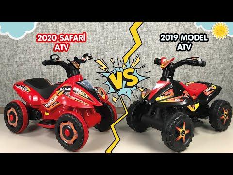 Çocuk ATV'lerini Karşılaştırdık!🧐📢 - 2020 SAFARİ ATV vs.⚡ 2019 Model ATV