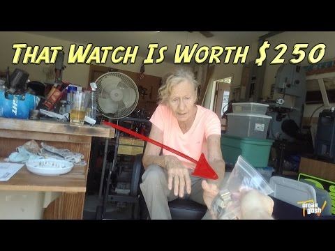 Finding Cool Stuff At Garage Sales - How To Make Money | OmarGoshTV