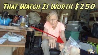 Finding Cool Stuff At Garage Sales - How To Make Money | OmarGoshTV