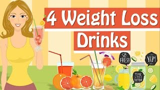 4 Weight Loss Drinks To Try! Weight Loss Smoothies