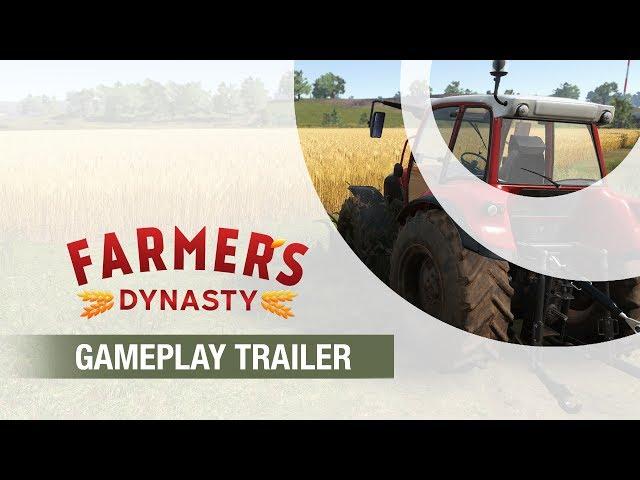 Farmer's Dynasty | Gameplay Trailer