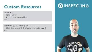 Getting Started with InSpec Part 11 - Custom Resource Application (Demo)