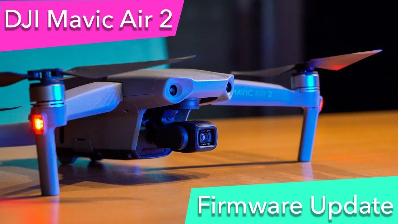 DJI Mavic Air 2 - NEW FIRMWARE v01.00.0250 #MavicAir2
