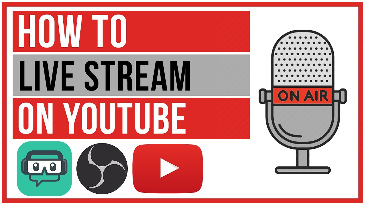 How To Live Stream On Youtube Start To Finish 2020 Youtube