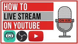 How To Live Stream On YouTube - Start To Finish 2020
