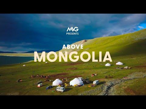 Above Mongolia | 4K