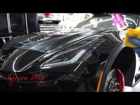 2018 Z06 Corvette Ceramic Coating Gyeon MOHS