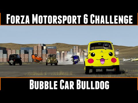 Forza Motorsport 6 Challenge Bubble Car Bulldog