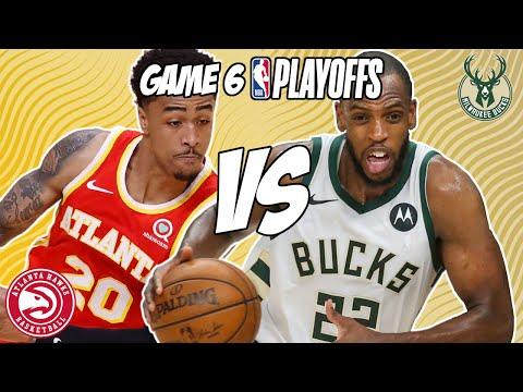 Atlanta Hawks vs Milwaukee Bucks Game 6 7/3/21 NBA Playoff Free NBA Pick & Prediction