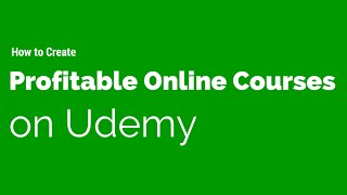How I created 72 profitable online courses on Udemy!(What I show in this video for teaching on Udemy was so effective I got banned after making $600000! Take this and 30+ of my video courses for $10 a month at ..., 2015-06-19T22:43:47.000Z)