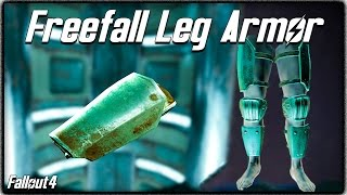 Fallout 4 Jetpack Locations - FREEFALL LEG ARMOR! Rarest Item in the Game! (How to Get)