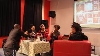 Paneldiscussion on #BlackLivesMatter, activism and love with Patrisse Cullors & Janaya Khan